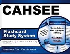 CAHSEE Flashcards