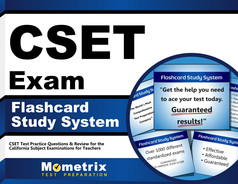 CSET Flashcards