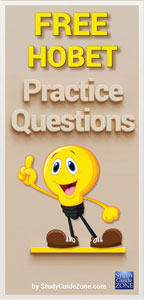 HOBET Test Questions