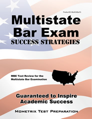 Multistate Bar Exam Success Strategies Study Guide