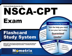 NSCA-CPT Flashcards