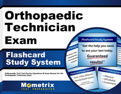 Orthopedic Technologist Certification Flashcards