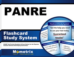 PANRE Flashcards