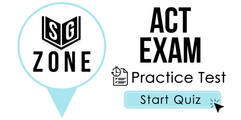 ACT Practice Test (Study for the ACT Test)