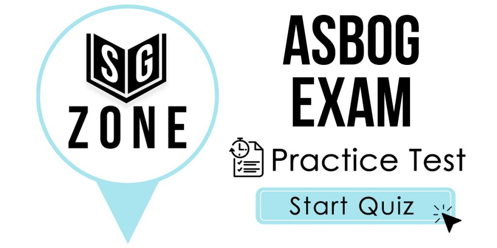 ASBOG Exam Practice Test