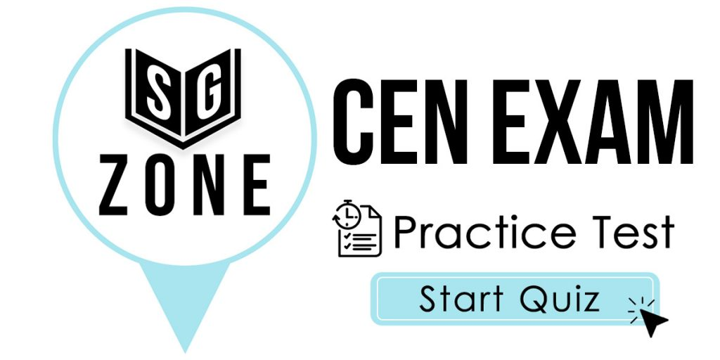 CEN Study Guide - Free CEN Practice Test