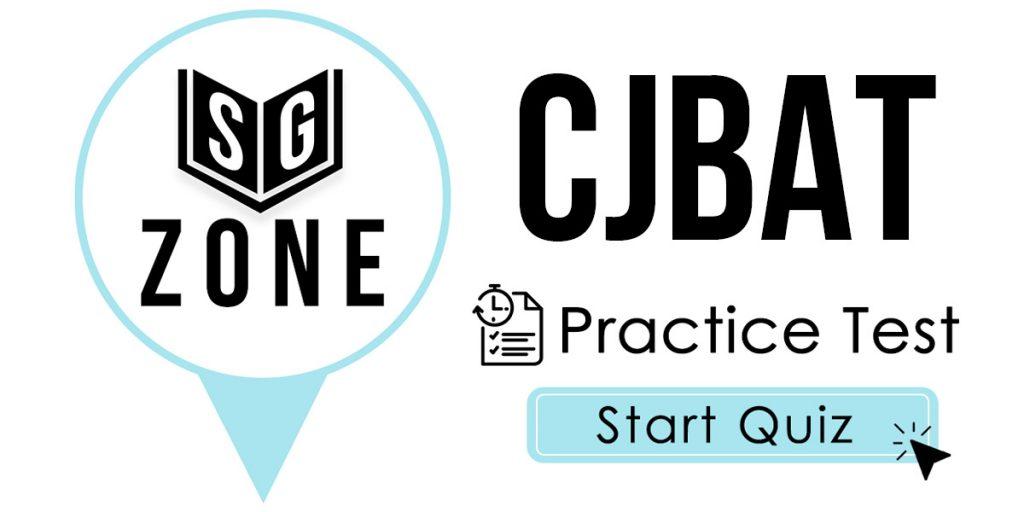 CJBAT Practice Test
