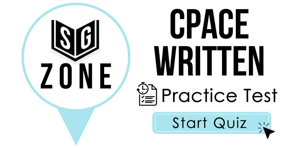CPACE Written Practice Test