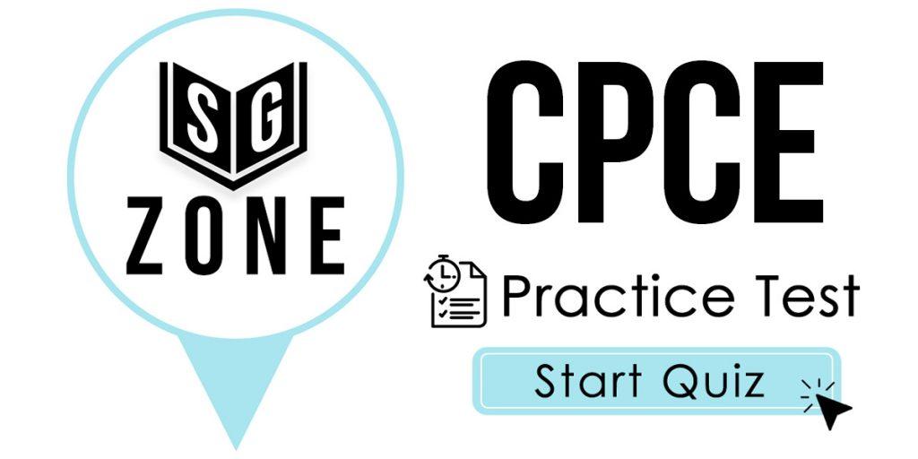 CPCE Practice Test
