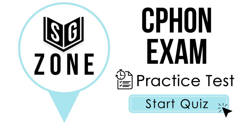 CPHON Exam Practice Test