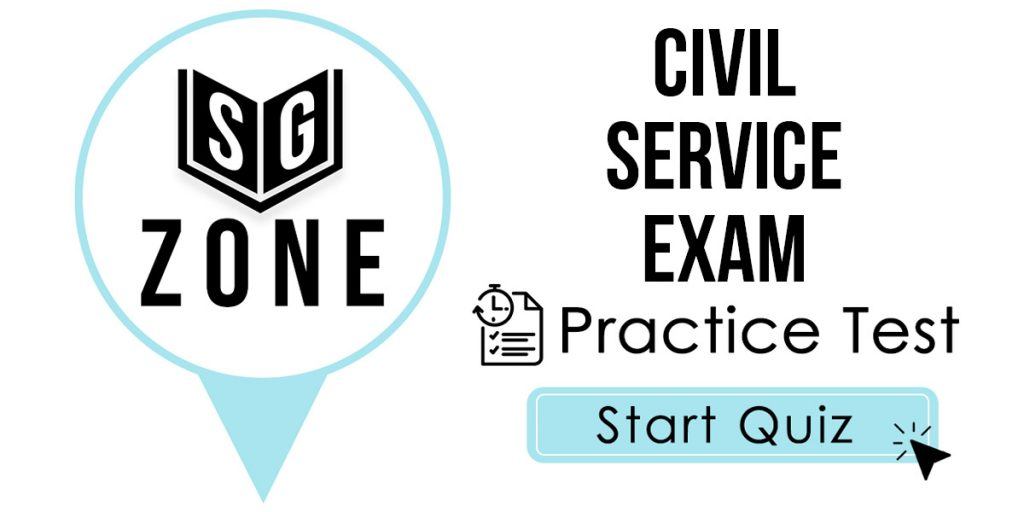 Civil Service Exam Practice Test