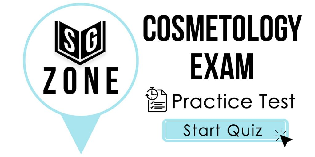Cosmetology Study Guide Free Cosmetology Practice Test