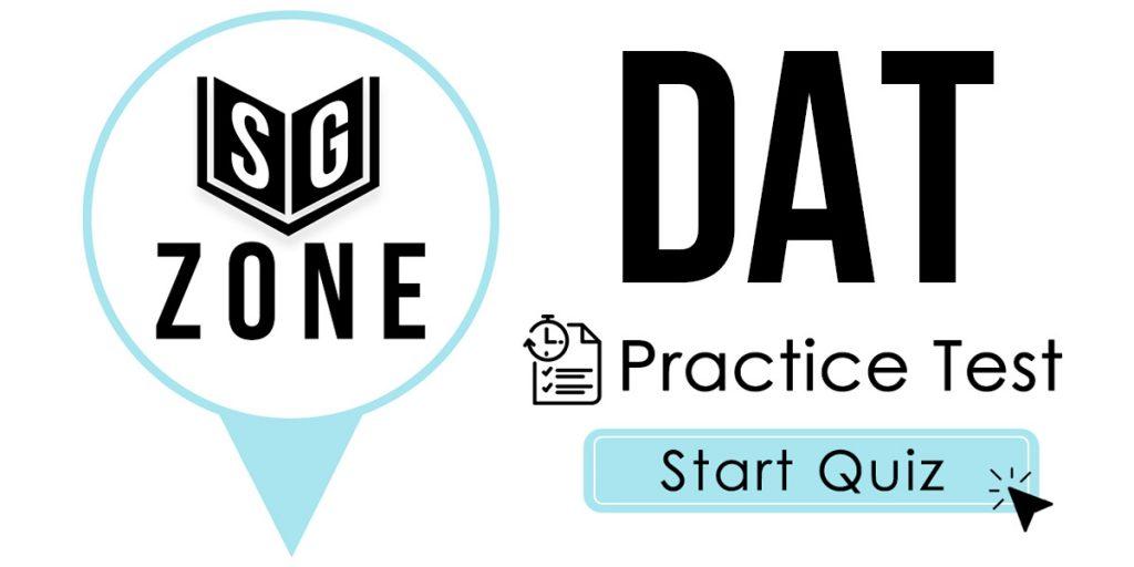 DAT Practice Test