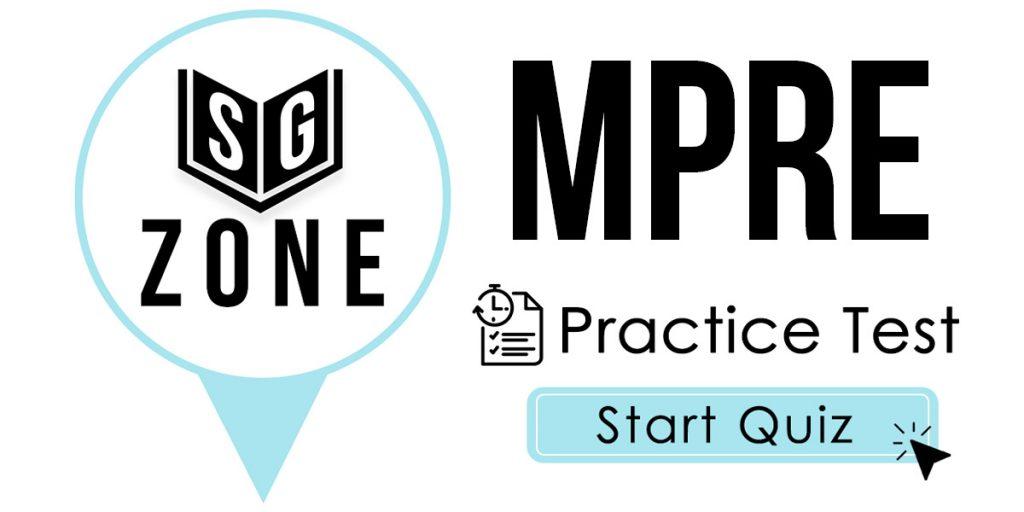 MPRE Practice Test
