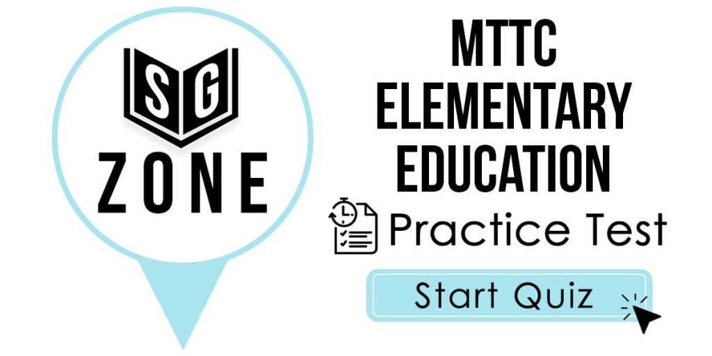 MTTC Elementary Education (103) Practice Test