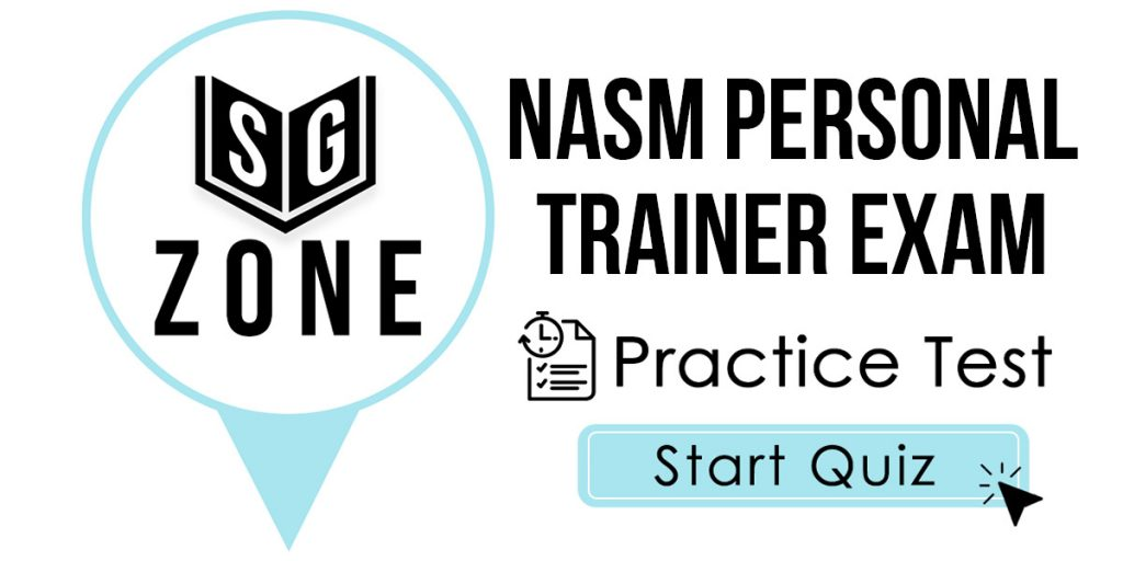 NASM Personal Trainer Exam Practice Test