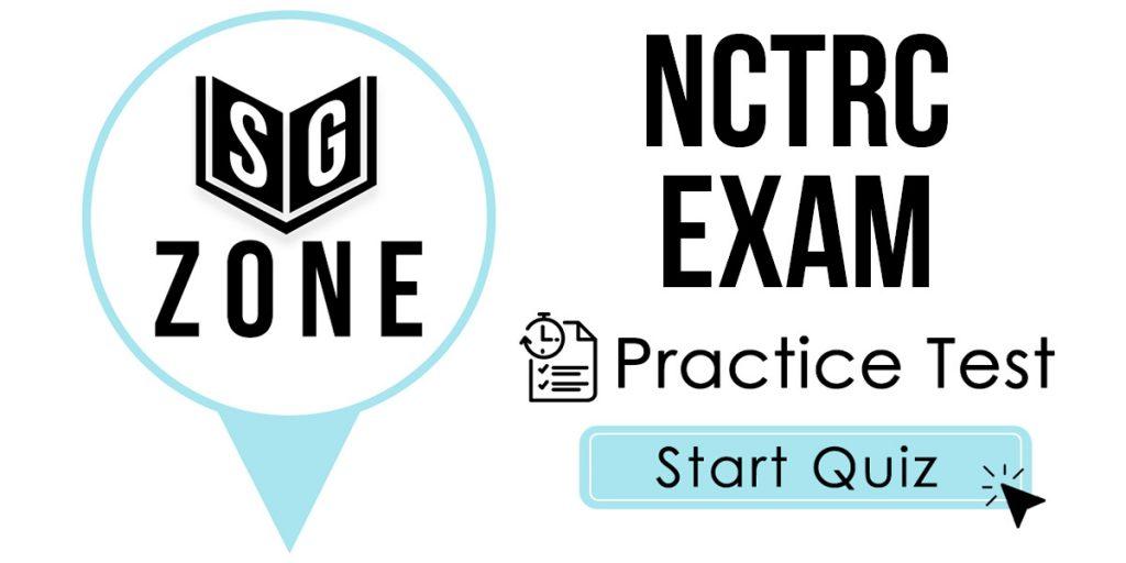 NCTRC Exam Practice Test