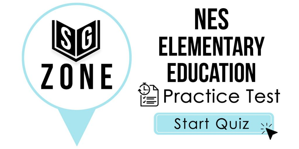 NES Elementary Education Practice Test