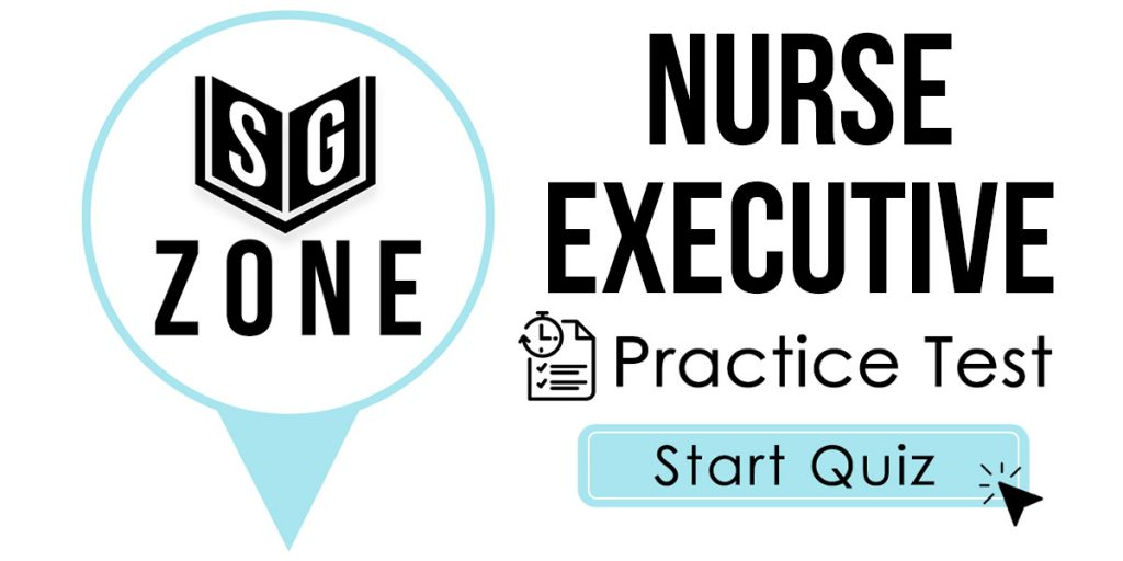 Nurse Executive Exam Practice Test