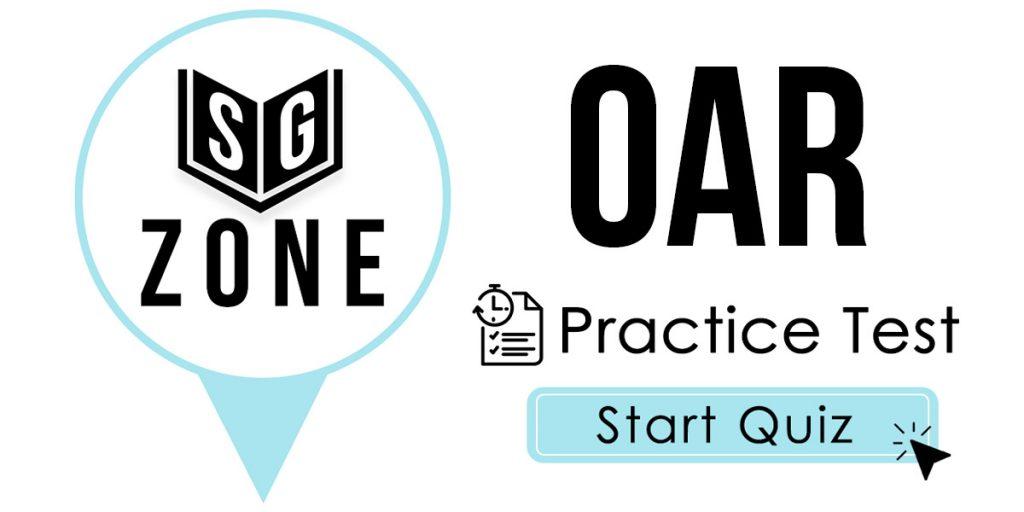 OAR Practice Test