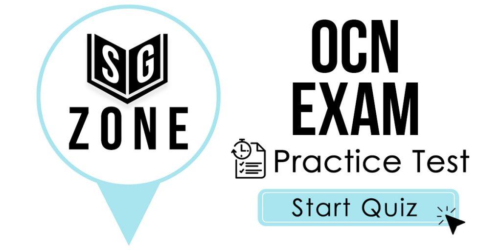 OCN Exam Practice Test