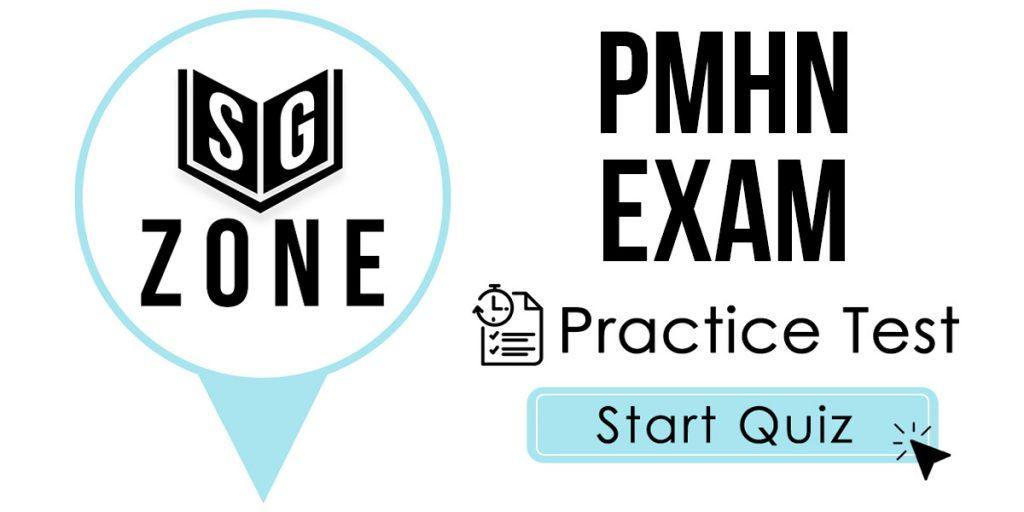 PMHN Exam Practice Test
