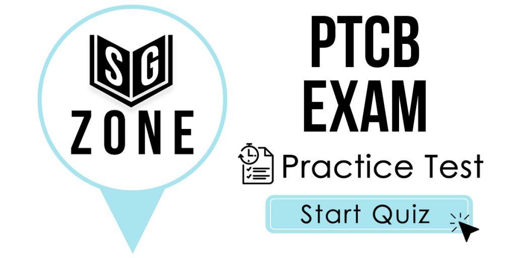 PTCB Exam Practice Test