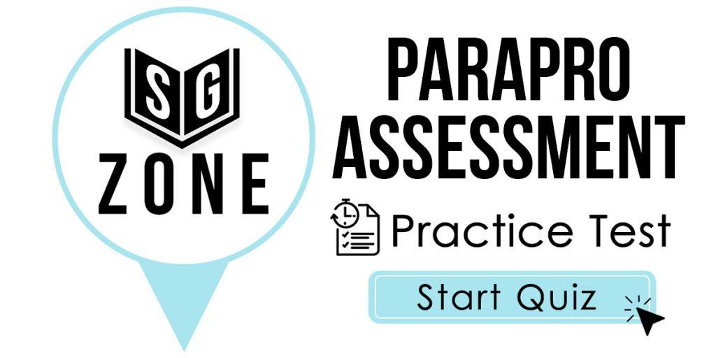 ParaPro Assessment Practice Test