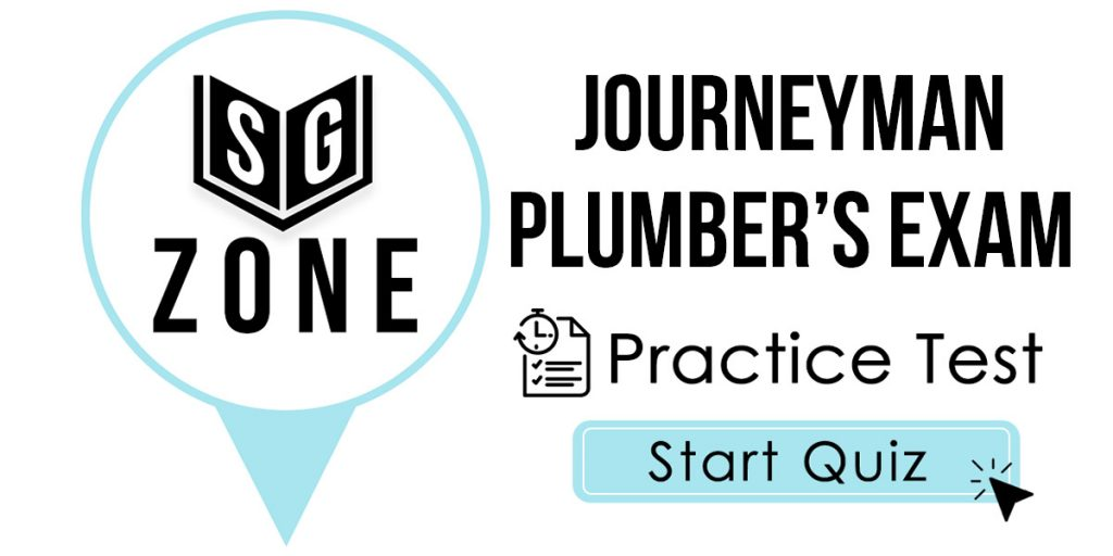 Journeyman Plumber's Exam Practice Test