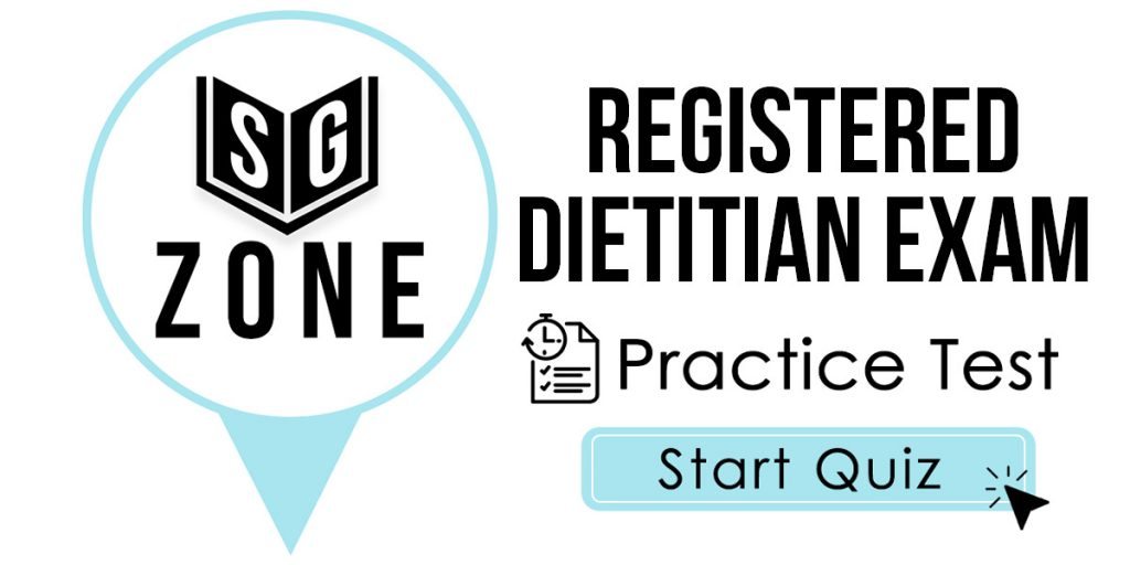 Registered Dietitian Exam Practice Test