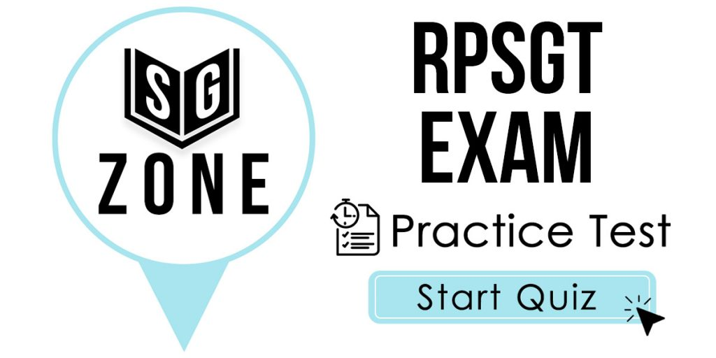 RPSGT Exam Practice Test