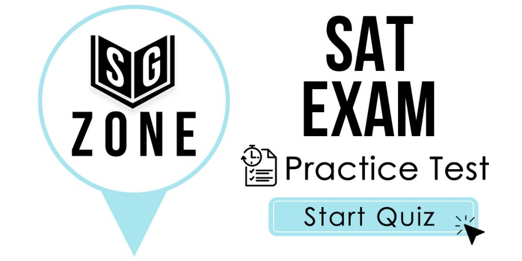 SAT Exam Practice Test