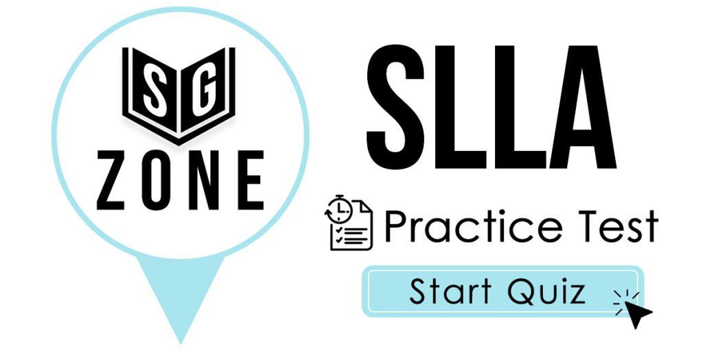 SLLA Practice Test