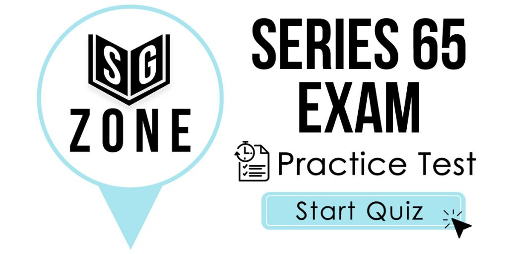 Series 65 Exam Practice Test