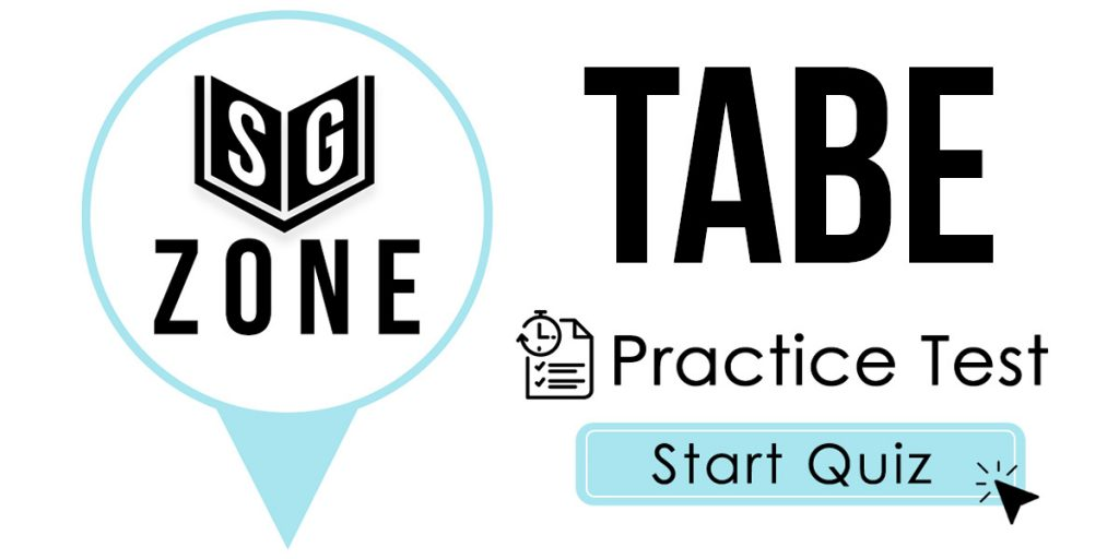 TABE Practice Test