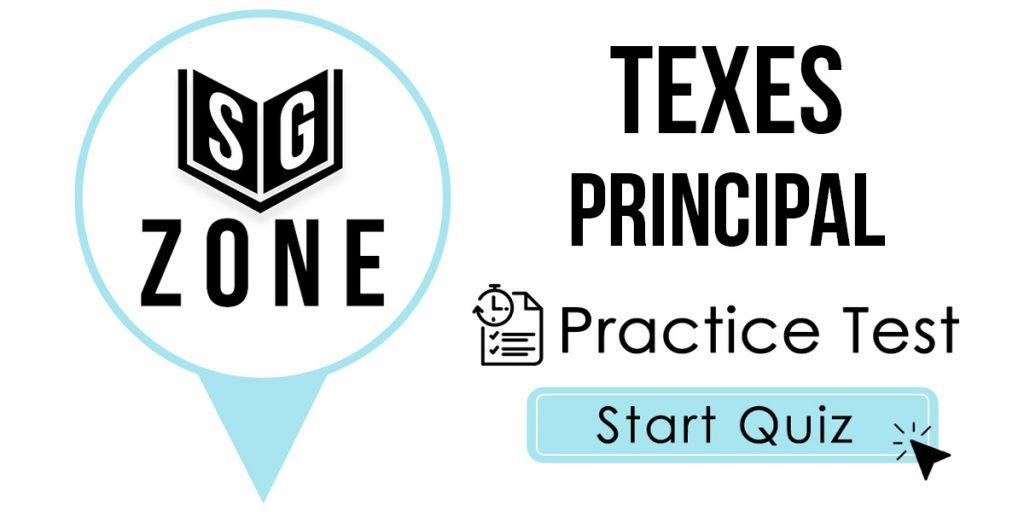 TExES Principal (068) Practice Test