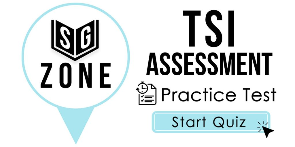 TSI Assessment Practice Test