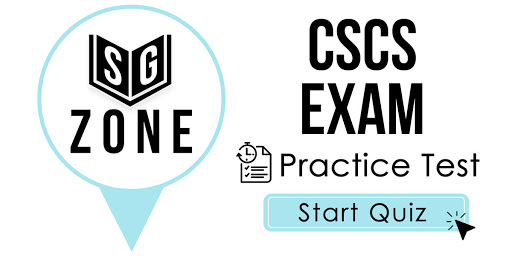 CSCS Certification Exam Practice Questions