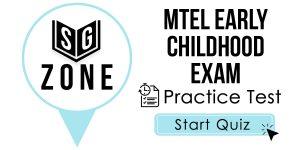 MTEL Early Childhood Exam