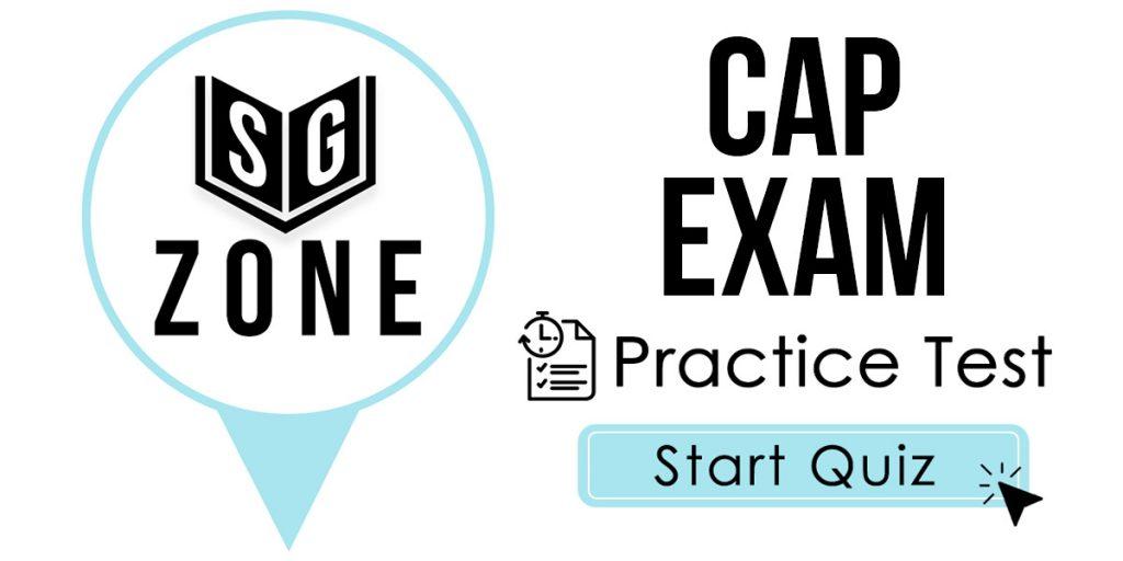 CAP Exam