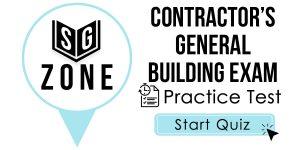 Contractor's General Building Exam