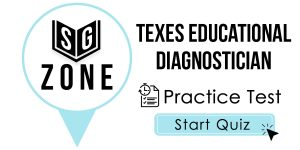 TExES Educational Diagnostician Test