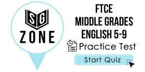FTCE Middle Grades English 5-9 Test