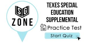 TExES Special Education Supplemental Test