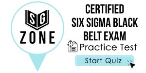 Certified Six Sigma Black Belt Exam