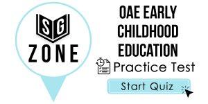 OAE Early Childhood Education Test