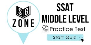 SSAT Middle Level Test