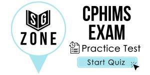 CPHIMS Exam