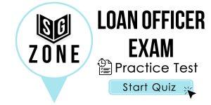 Loan Officer Exam