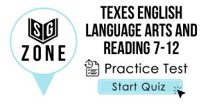 TExES English Language Arts and Reading 7-12 Test